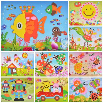 儿童EVA3D立体贴画 DIY拼图 大号20张 天猫 易购网超值特惠频道