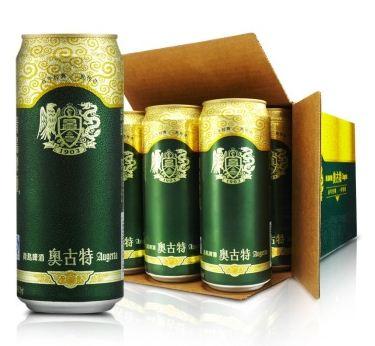 青岛啤酒 奥古特12度 500ml*12听 整箱装 京东85元包邮(下单立减)