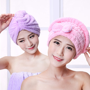 干发帽超强吸水加厚包头巾成人儿童擦头毛巾速干长发浴帽干发巾